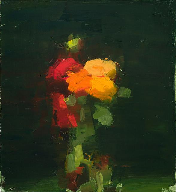 , 'Zinnias/Marigolds/Dahlias,' 2017, Somerville Manning Gallery