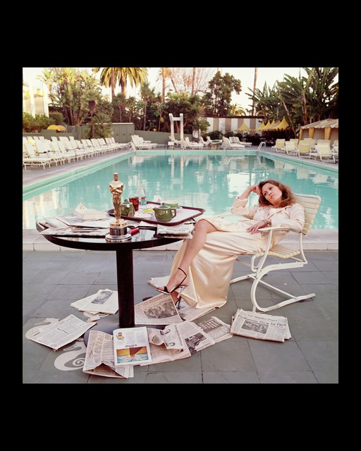 , 'Faye Dunaway , The Beverly Hills Hilton, Los Angeles,The Morning after her Network Oscar,' 1977, Gallery 270