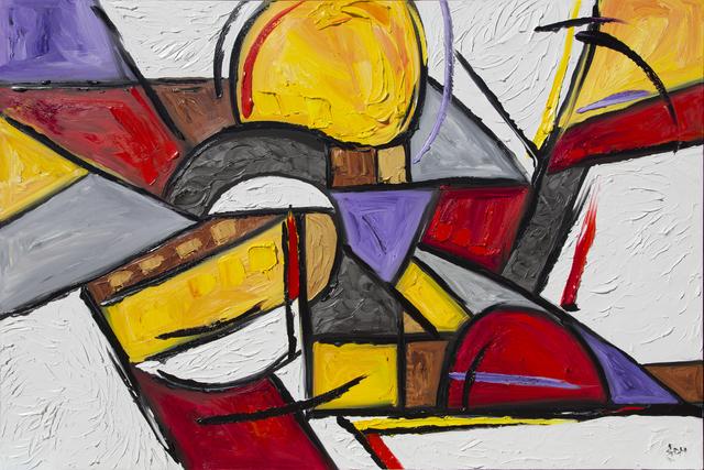, 'Deconstructed Sunset,' 2014, Samuel Lynne Galleries
