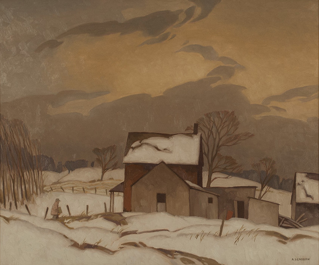 , 'End of Day,' 1967, Canadian Fine Arts