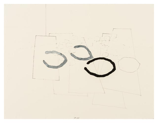 , '100/9 Tomas Tranströmer Niemands Gefolge,' 2015, Häusler Contemporary