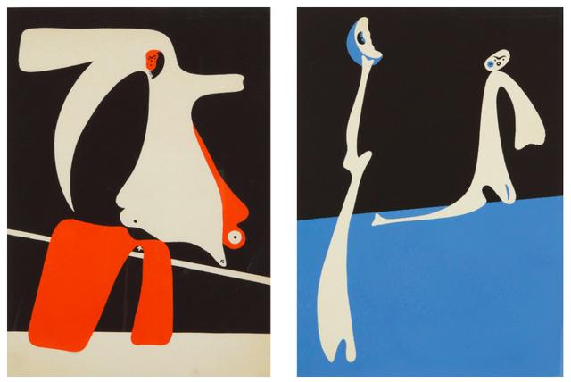 Joan Miró, 'Cahiers d'Art (Dupin 14-15)', 1934, F.L. Braswell Fine Art