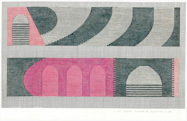 Jackie Ferrara, 'D105 Ghost Arches II', 2005, CITYarts: Benefit Auction 2019