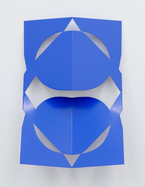 , 'C.Ar.D. Cutout (Gentian Blue),' 2016, Altman Siegel