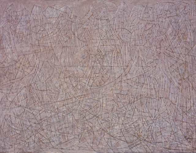 Mark Tobey, 'Voyage of the Saints', 1952, ARS/Art Resource