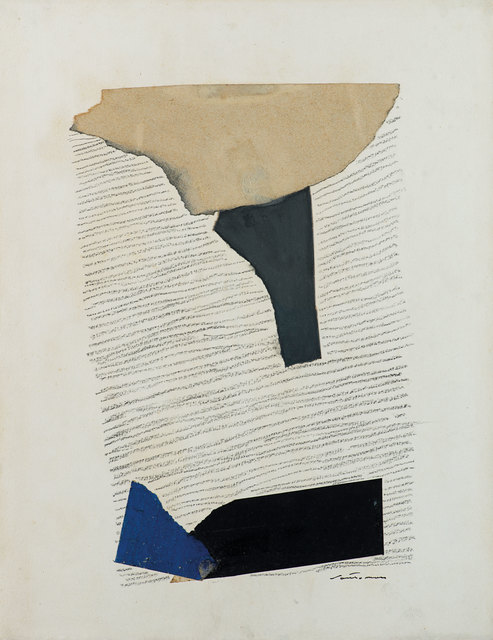 Giuseppe Santomaso, 'Untitled', 1979, Drawing, Collage or other Work on Paper, Collage and mixed media on paper, Finarte