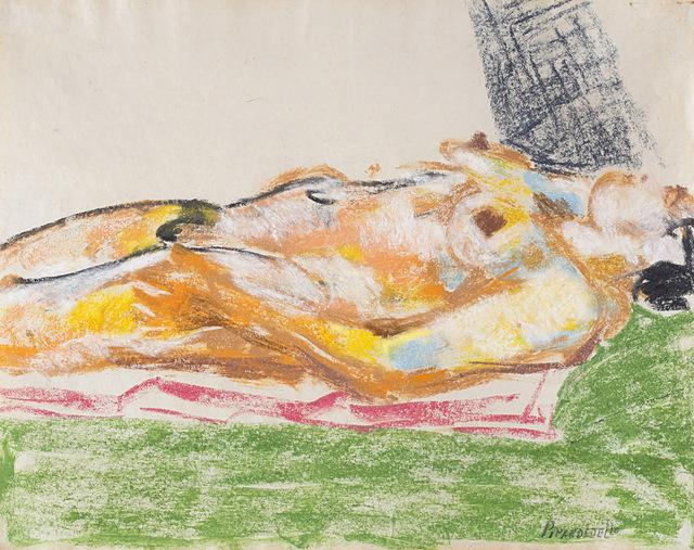 Fausto Pirandello, 'Nudo sdraiato', 1950, Finarte