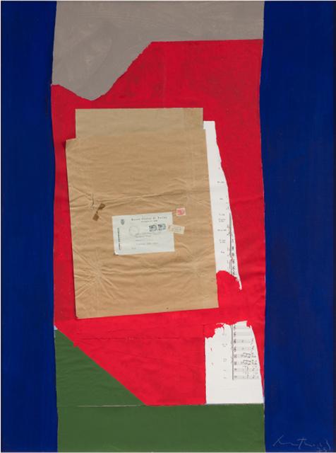 , 'Torino (Alternative Title: Torino Collage),' 1975-1976, Barbara Mathes Gallery