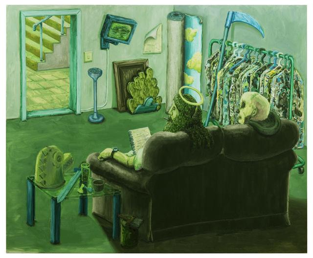 Willem Weismann, 'The green room', 2015, Quadrado Azul