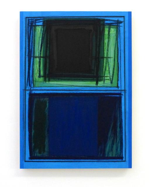 Günter Tuzina, 'Untitled', 2017, Painting, Acrylic, oil, crayon on wood, Slewe Gallery