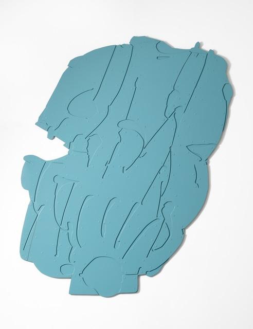 Pietro Consagra, 'Piano Appeso Alluminio Celeste', 1966-1967, Robilant + Voena
