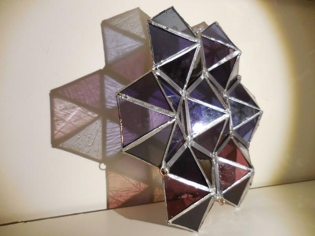 , 'Purple Prism ,' 2018, Philadelphia's Magic Gardens