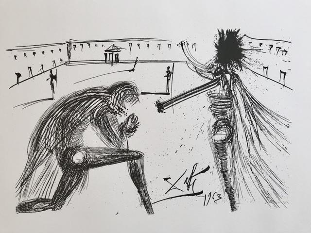 Salvador Dalí, 'Don quichotte', 1987, ByNewArt