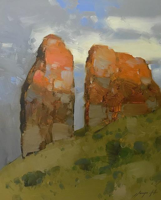 Vahe Yeremyan, 'Cliff Mountain', 2019, Vayer Art