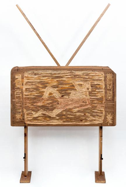 , 'WOODEN TV,' 2017, Anna Nova Gallery