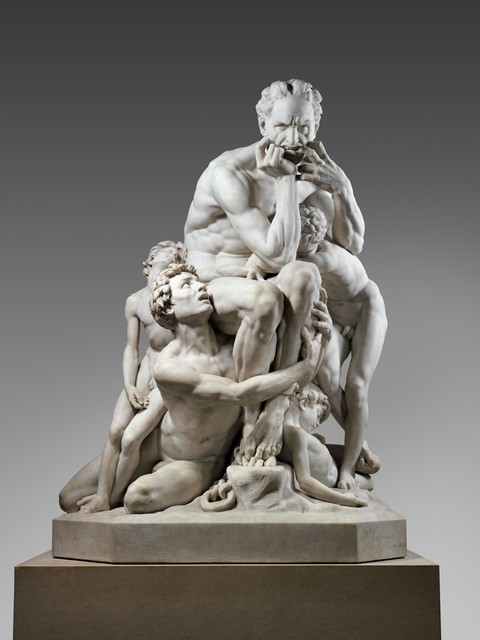 Jean-Baptiste Carpeaux, 'Ugolino and His Sons', 1865–1867, The Metropolitan Museum of Art