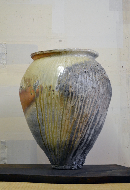 Morihiro Hosokawa, 'Shigaraki-type large jar', 2013, Kami ya Co., Ltd.