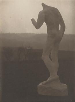 Stephen Haweis y Henry Coles, 'Étude vierten Pierre de Wissant (Estudio para Pierre de Wissant),' 1903-1904, Museo Rodin