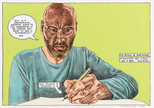 , 'Self-portrait: Wit,' 2018, Stevenson