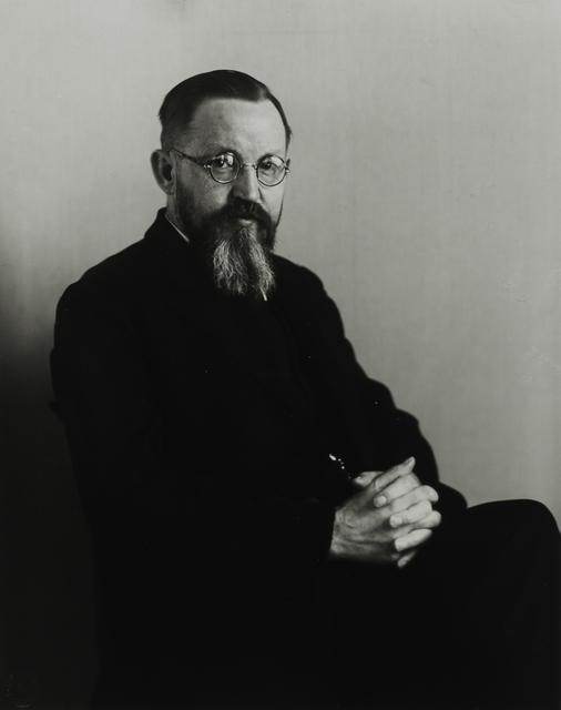 August Sander, 'Urban Missionary, c. 1931', Galerie Julian Sander