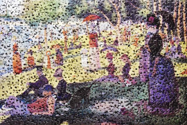 , 'A Sunday on La Grande Jatte, after Georges Seurat (Gordian Puzzles),' 2009, Ben Brown Fine Arts