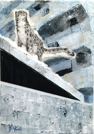 , 'Remaining snow,' 2017, Mottas