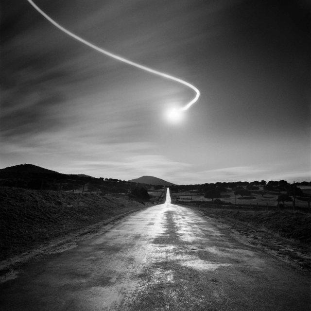 , 'Carretera de Cespedosa,' 1987, Blanca Berlín