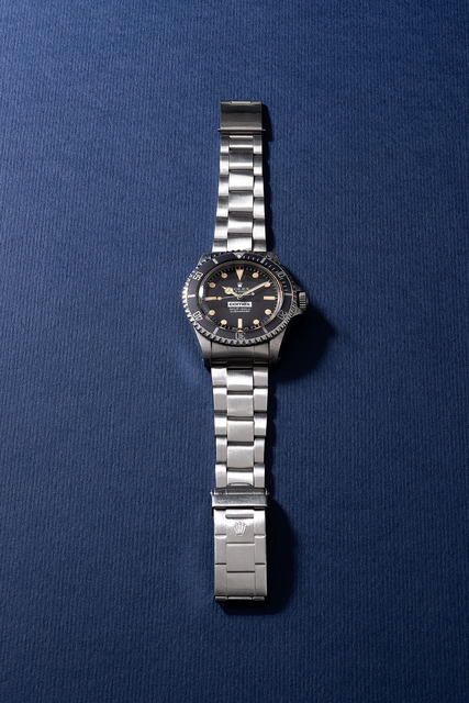 Rolex, 'A highly attractive and rare stainless steel wristwatch with sweep center seconds, helium escape valve, bracelet, ghost bezel and additional bracelet, made for COMEX', Circa 1978, Phillips
