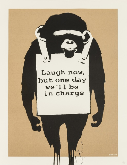 Banksy, 'Laugh Now', 2003, Forum Auctions