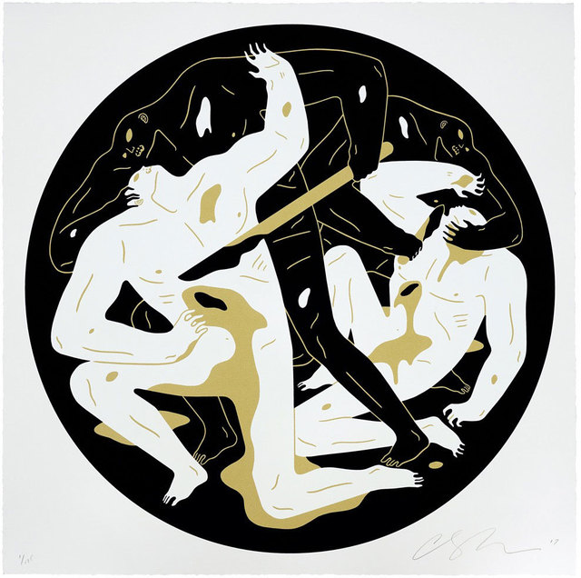 Cleon Peterson, 'This Is Darkness II (White)', 2017, Black Book Gallery