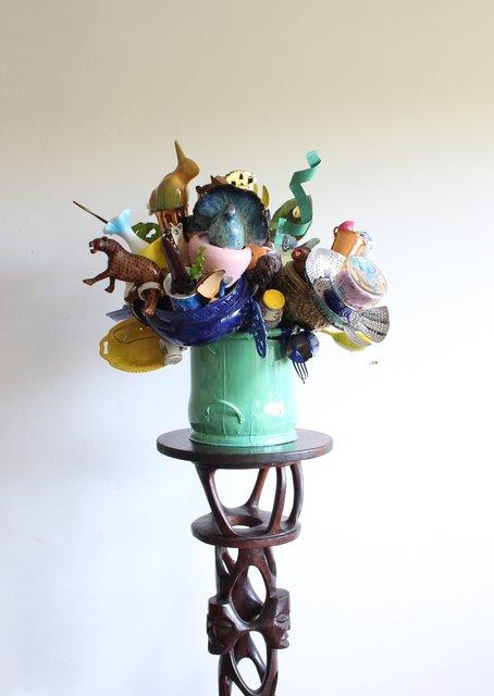 , 'kunsmatige blomme,' 2018, Gallery MOMO