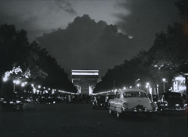 , 'Paris, Avenue des Champs Elysées,' 1949, Les Douches La Galerie