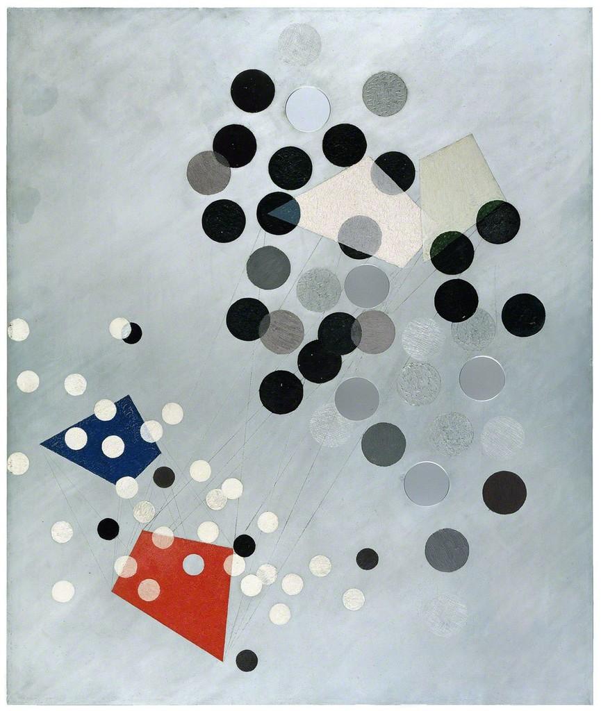 László Moholy-Nagy   Construction AL6 (Konstruktion AL6) (1933-1934 ...