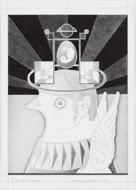 , 'Bird Portrait #5,' 2018, P.P.O.W