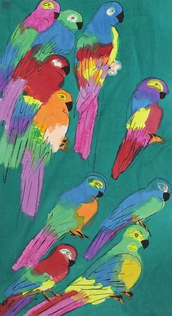 , 'Ten Colourful Parrots,' 1980-1989, Alisan Fine Arts