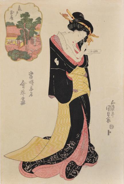 , 'Tamaya at Kameido,' ca. 1826, Ronin Gallery