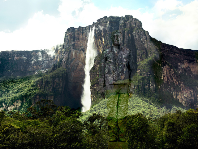 , 'Hiding in Venezuela – Angel Falls,' 2013, RGR+ART