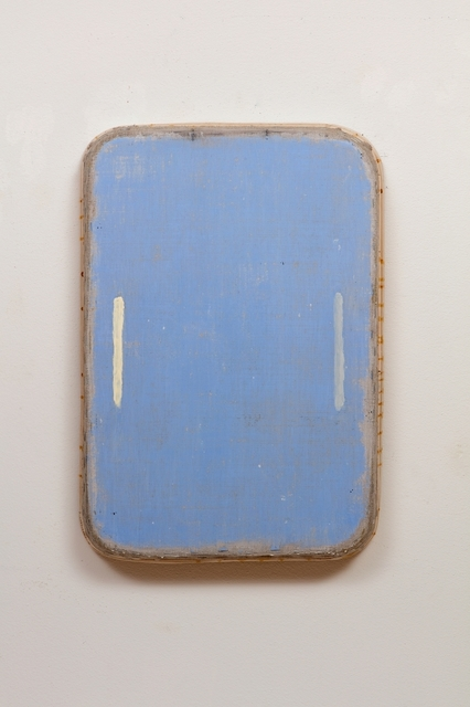 , 'Blue with Yellow and Grey Lines,' 2015, William Campbell Contemporary Art, Inc.