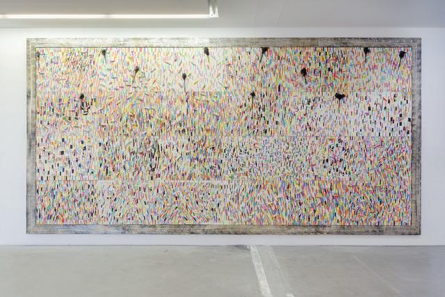 , 'Chalk fresco E,' 2015, Galleria Continua