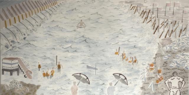 , 'Jiang Xi Flood B,' 2017, NanHai Art