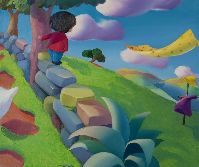 , 'Summer Sun,' 2015, Amy Li Gallery