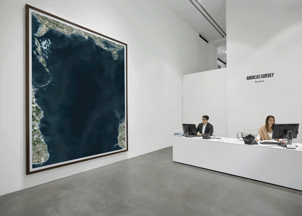 """Andreas Gursky: Bangkok"" Installation view at Gagosian Rome. Artworks © Andreas Gursky/SIAE, Italy. Photo by Matteo D'Eletto."