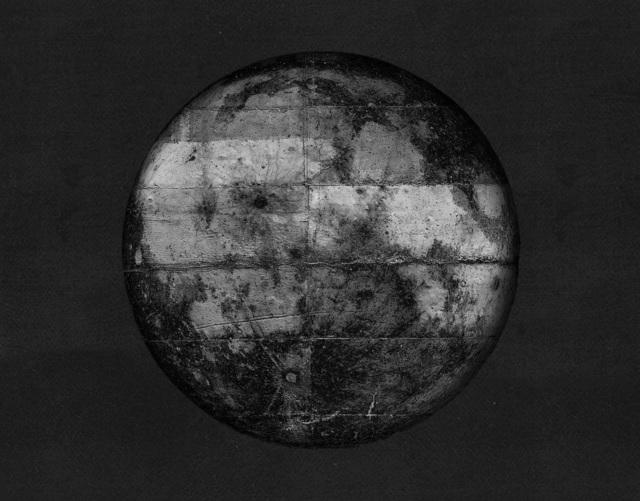 , 'Concrete moon in black,' 2017, GRAFO Gallery