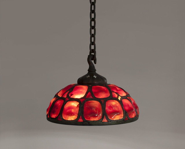 , 'Hanging Turtle Back Shade,' ca. 1900, Lillian Nassau LLC
