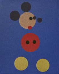 Mickey (Blue Glitter)