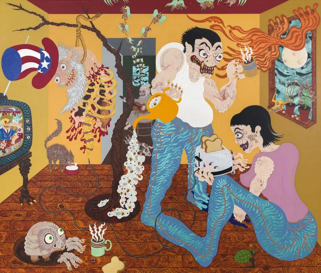 , 'Vampire Toast,' 2015, Gallery Poulsen