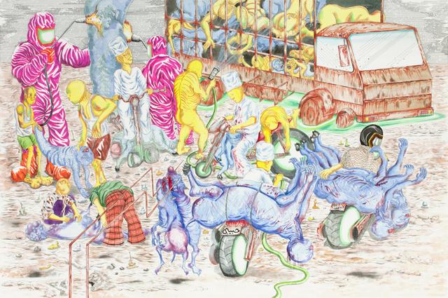 , 'Interactive Tumor Morning,' 2016, Richard Koh Fine Art