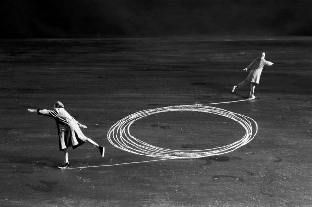 Gilbert Garcin, 'La mécanique des couples - The couple mechanism', 2002, Photography, Gelatin silver print, Stephen Bulger Gallery