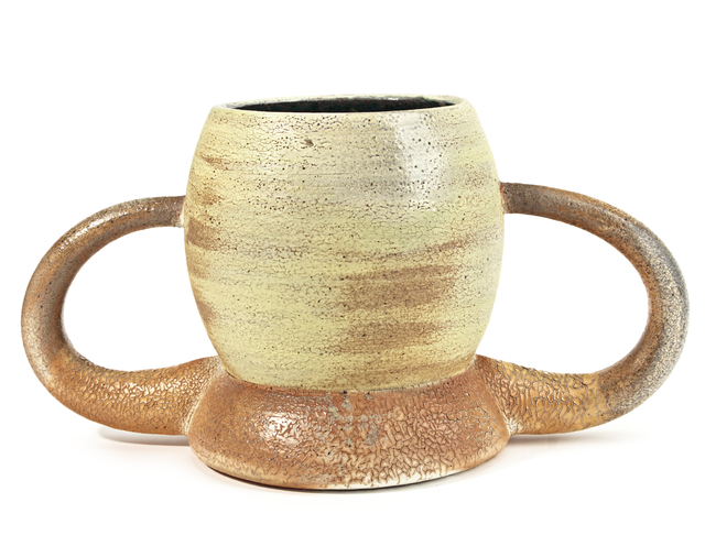 Jamie Walker, 'CUP FORM #7', 2012, Sculpture, Soda fired stoneware, slip and glaze, Traver Gallery