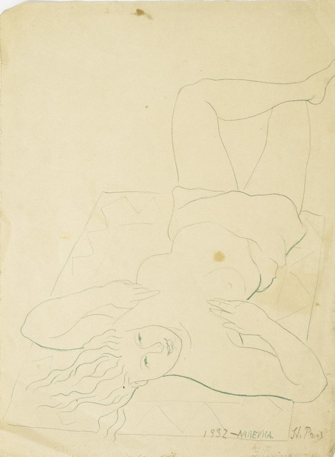 Marie Vorobieff Marevna, 'Reclining Nude, St Prix', 1932, Roseberys